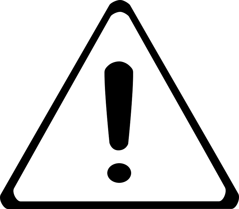 Warning Caution Sign · Free vector graphic on Pixabay
