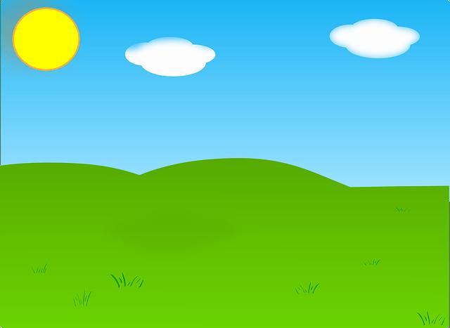 Free vector graphic Summer Sky Landscape Garden Sun  Free Image on Pixabay  297302