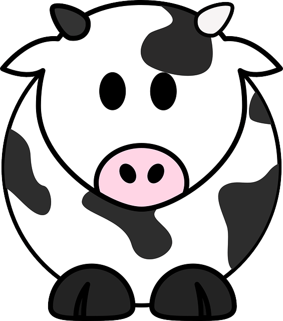 Milk Cow Cattle  Free vector graphic on Pixabay