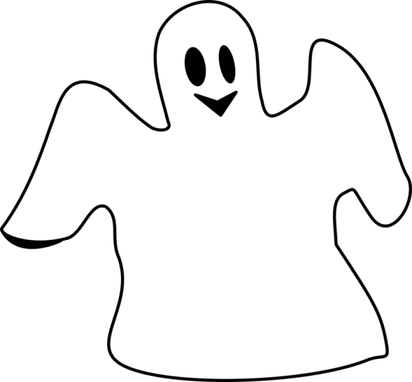 free vector graphic ghost spooking