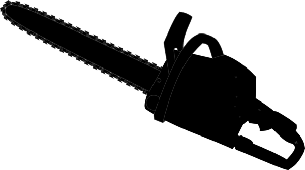 chainsaw tool free vector