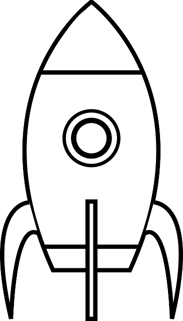 Ücretsiz vektör çizim: Uzay Aracı, Rocketship, Uzay Gemisi