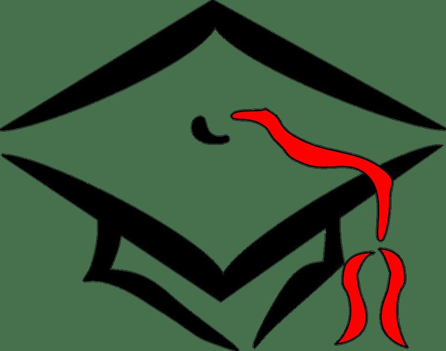 Free vector graphic: Graduation, Cap, College, Education