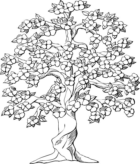 Free Vector Graphic Tree Big Old Wood Plant