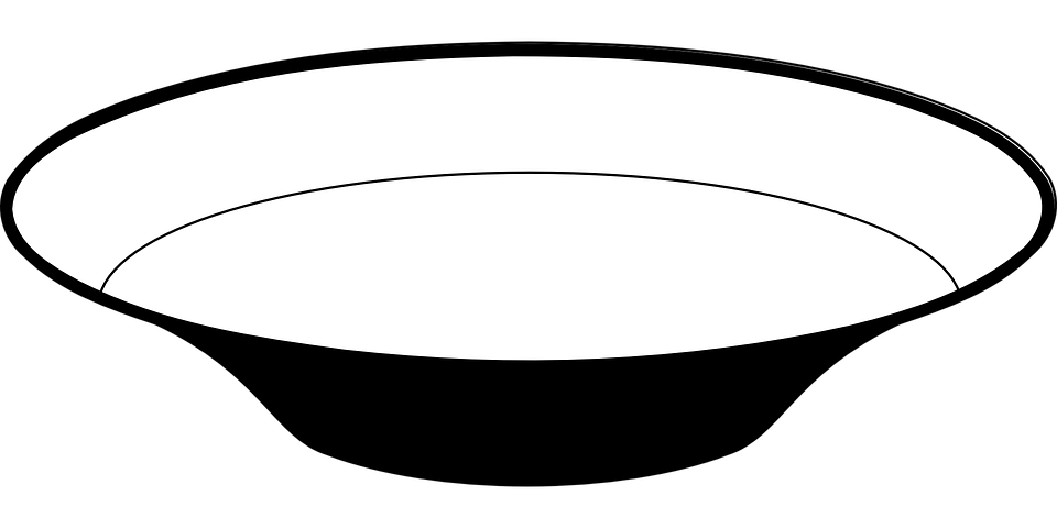 Bowl White Dish  Free vector graphic on Pixabay