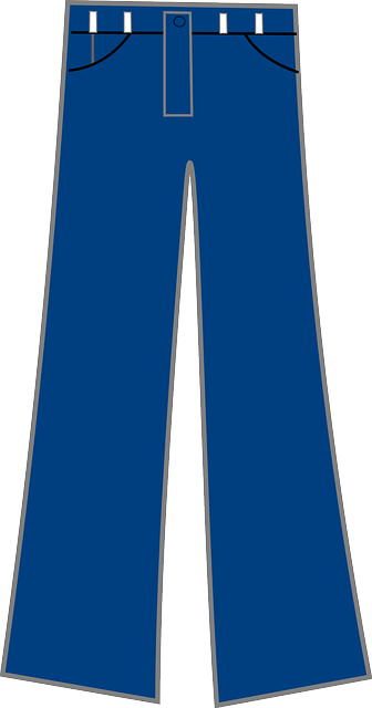 jeans pants blue free vector