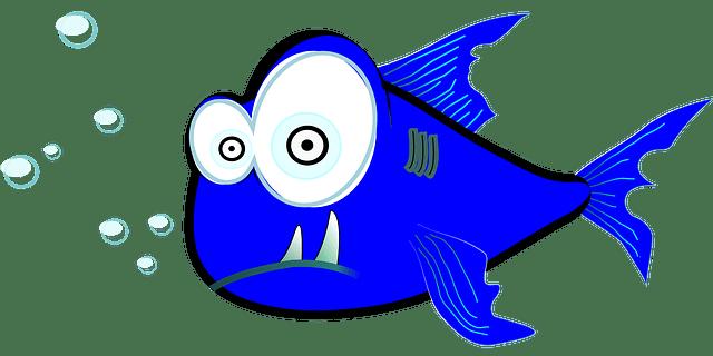 Image vectorielle gratuite Requin Dessin Anim Poissons
