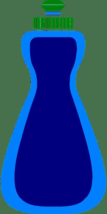 blue kitchen sink delta wall mount faucet 蓝色瓶菜 免费矢量图形pixabay 蓝色 瓶 菜 厨房 水槽 清洁 soap 清洁用品 塑料
