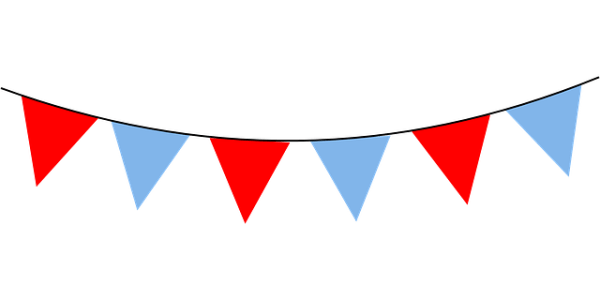 Red Decorations Blue Free vector graphic on Pixabay