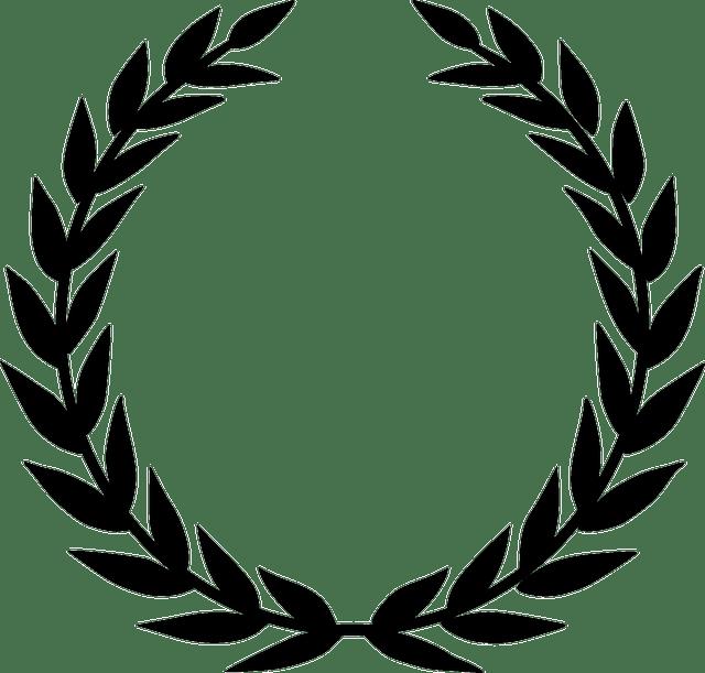 Laurel Wreath Accolade Winner · Free vector graphic on Pixabay