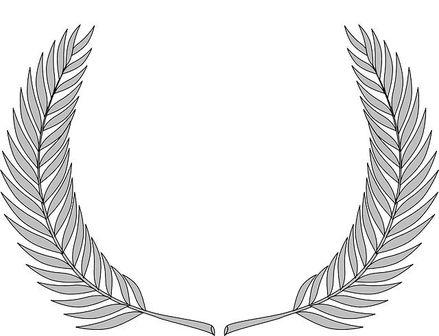 Wreath Olive Branch Accolade · Free vector graphic on Pixabay