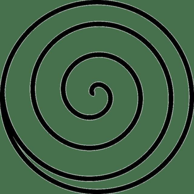Spiral Swirl White · Free vector graphic on Pixabay
