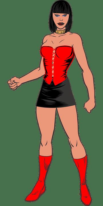 Tattoo Anime Girl Wallpaper Domina Dame Stiefel 183 Kostenlose Vektorgrafik Auf Pixabay