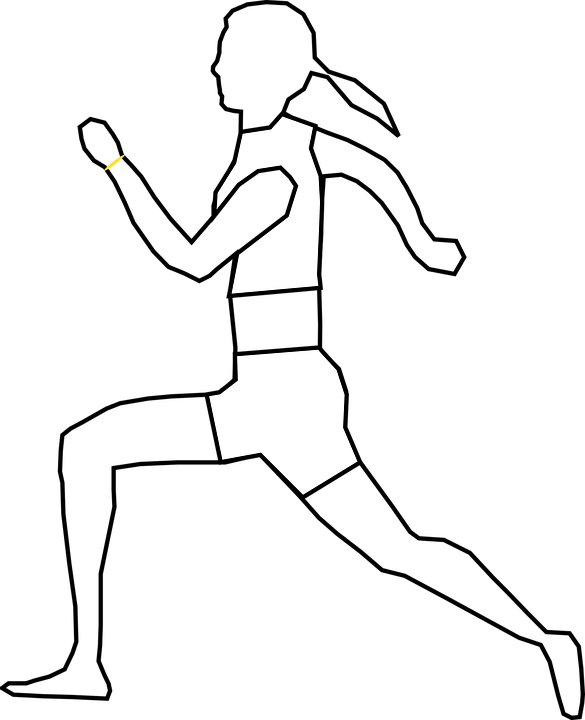 Lari Vektor : vektor, Runner, Athletic, Sport, Vector, Graphic, Pixabay