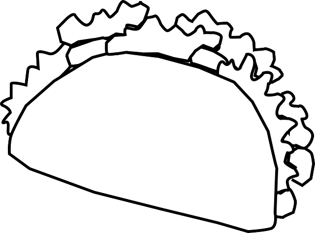Taco Wrap Mexican Fast · Free vector graphic on Pixabay