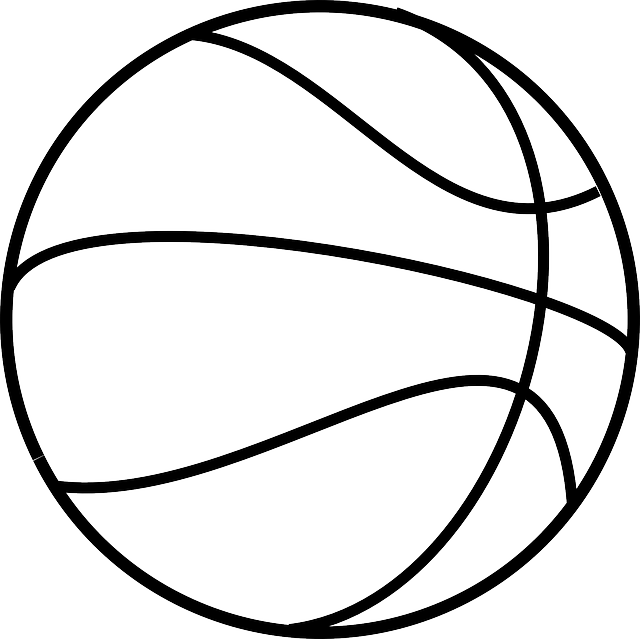 Basketball Sport Round · Free vector graphic on Pixabay