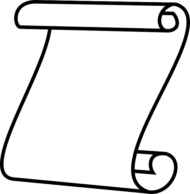 Scroll Paper White · Free vector graphic on Pixabay