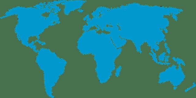 Peta Dunia Bumi Global  Gambar vektor gratis di Pixabay