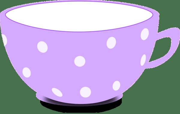 cup purple tea free vector graphic