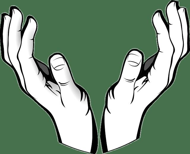 Kostenlose Vektorgrafik: Hände, Offen, Empfang, Halten