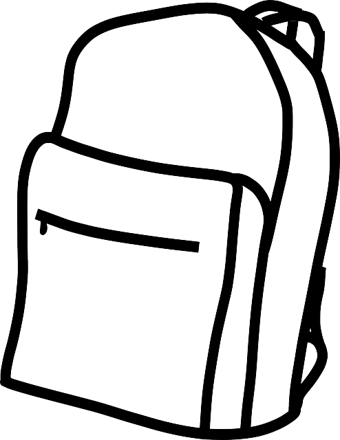Backpack Rucksack Plain · Free vector graphic on Pixabay