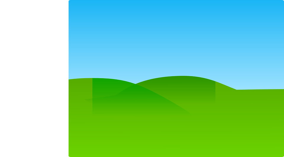 Landscape Green Hilly  Free vector graphic on Pixabay