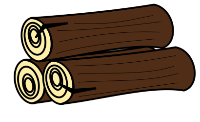 wood tree pixabay forest brown stem graphic vector sawed