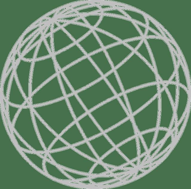 Free vector graphic: Globe, Wires, Longitude, Spheres