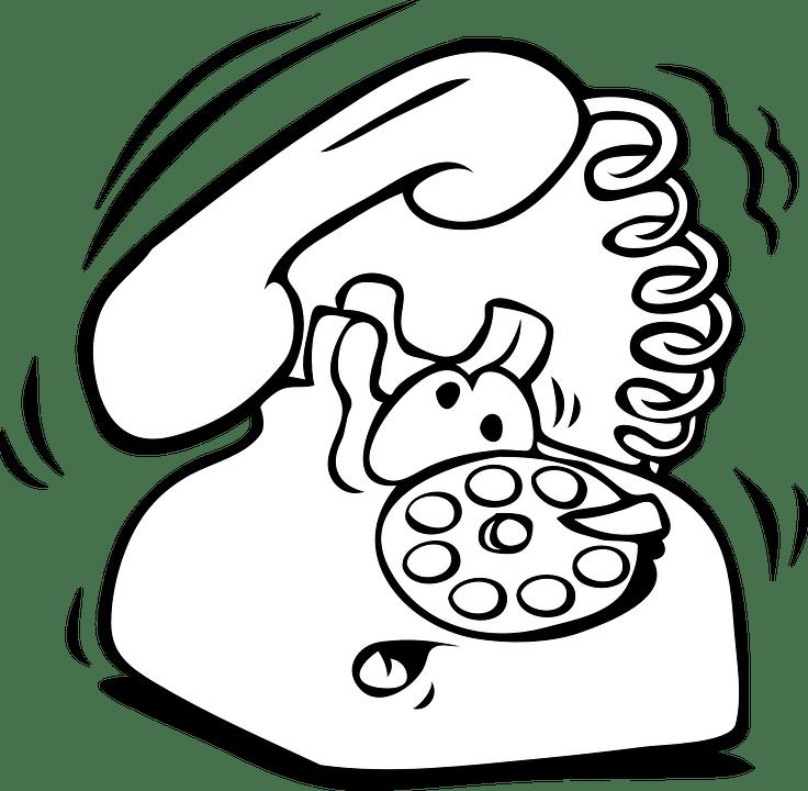 Image vectorielle gratuite: Téléphone, Bande Dessinée