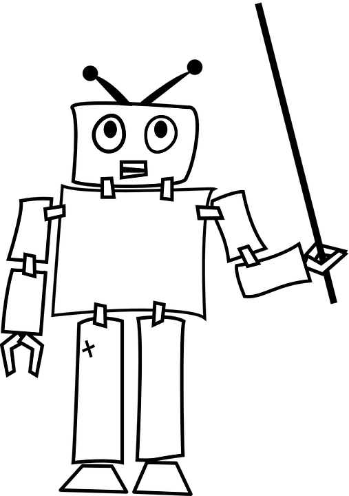 Robot Android Thought · Free vector graphic on Pixabay