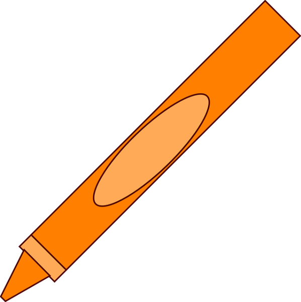 crayon pencil office free vector