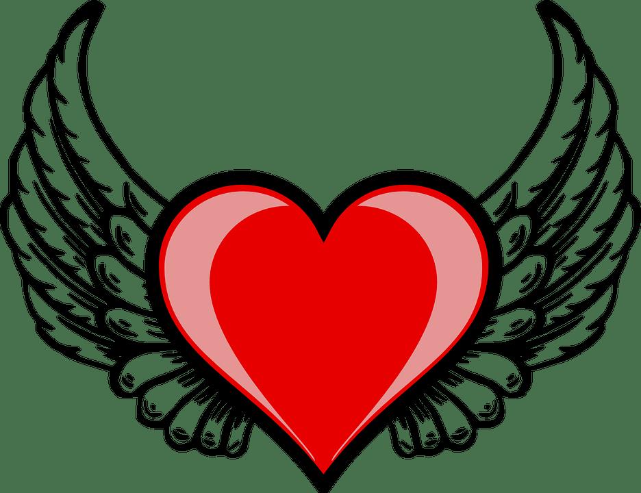 Image Vectorielle Gratuite Coeur Aile Amor Cupidon L