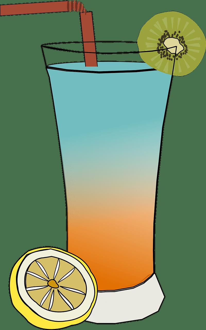 Minuman Animasi : minuman, animasi, Juice, Cocktail, Vector, Graphic, Pixabay