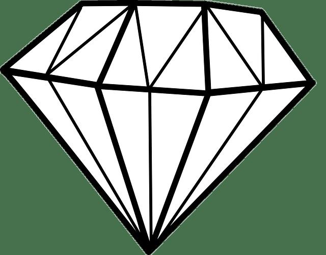 Diamond Chrystal Gem · Free vector graphic on Pixabay