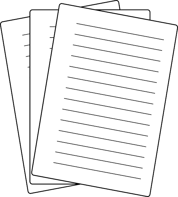 Papers Notes Sheets · Free vector graphic on Pixabay