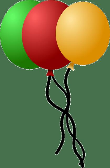 kostenlose vektorgrafik luftballons