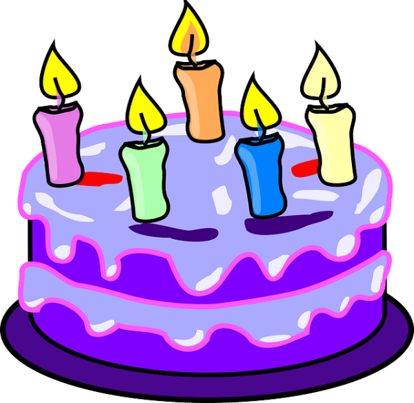 free vector graphic cake candles
