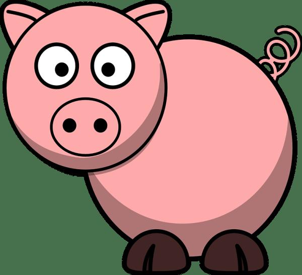 pig animal farm free vector graphic