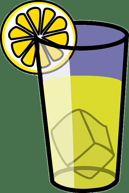 free vector graphic lemonade
