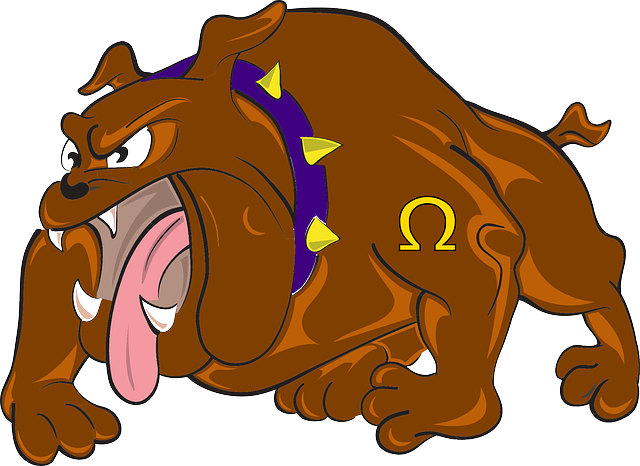 Bulldog Cartoon Angry  Free vector graphic on Pixabay