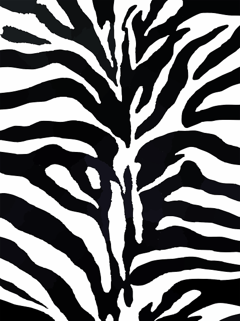 Fall Foliage Deskt Op Wallpaper Zebra Pattern Design 183 Free Vector Graphic On Pixabay