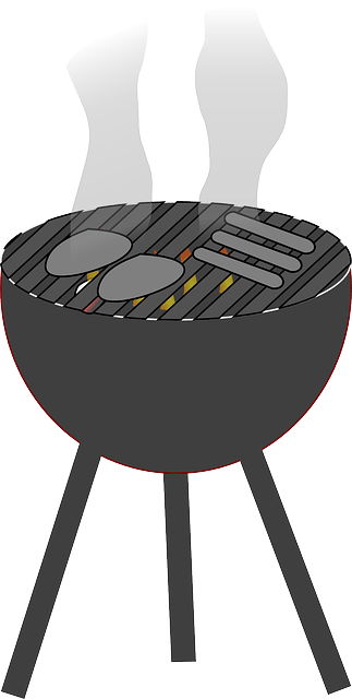 Free vector graphic Barbecue Grill Charcoal Fire