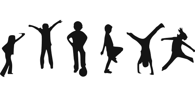 Children Playing Exercise · Free vector graphic on Pixabay