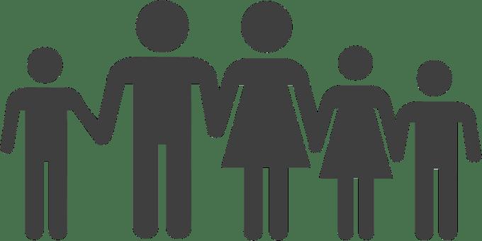 家族, 人, 両親, 子供, 夫と妻, 王朝