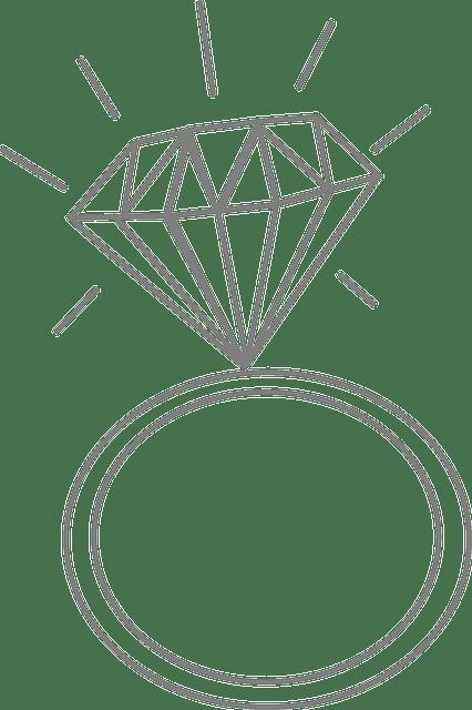 Wedding Ring Diamond Romance · Free vector graphic on Pixabay