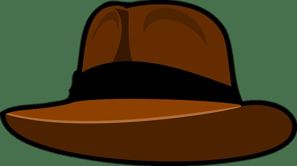 hat fedora brown indiana