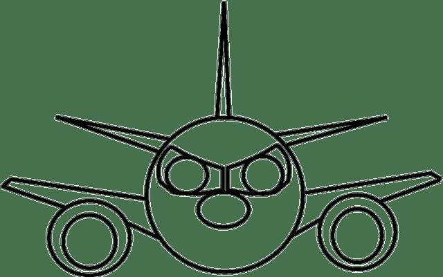 Gambar Gambar Mewarnai Pesawat Tempur Anak Rebanas