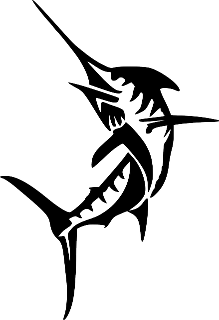 Swordfish Fish Marine  Free vector graphic on Pixabay