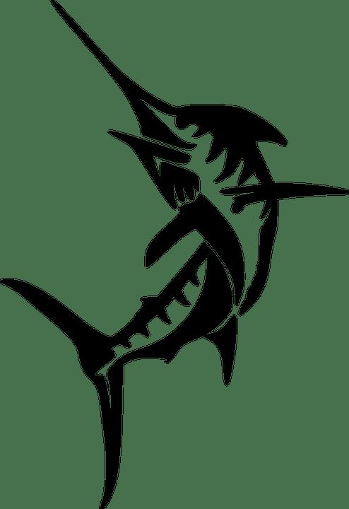 Swordfish Fish Marine · Free vector graphic on Pixabay
