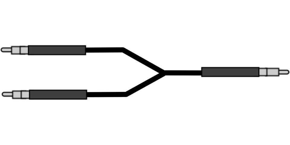 Splitter Cable Connector · Free vector graphic on Pixabay